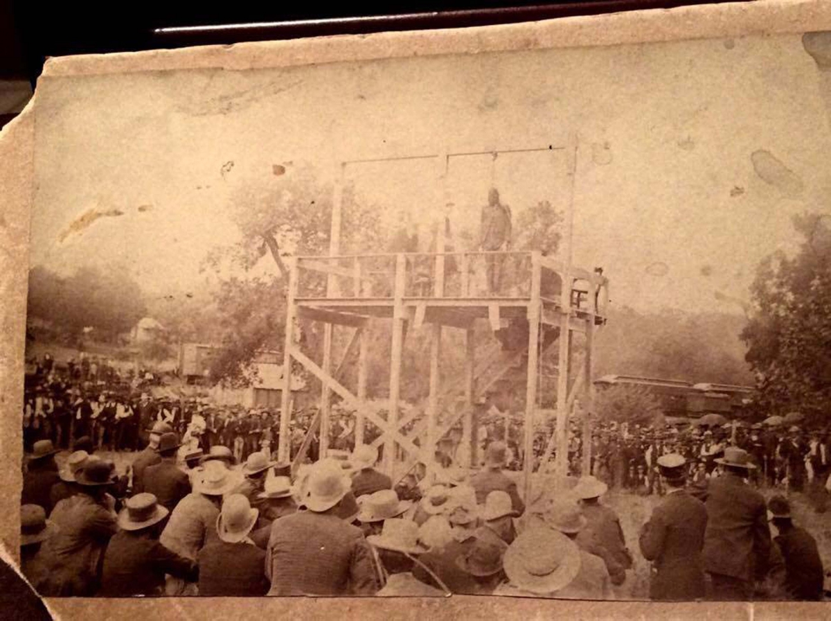 Crime - Hanging Joe Jump 1886