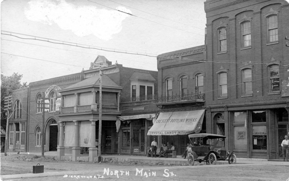 Gallatin Square - N Main 1910 001