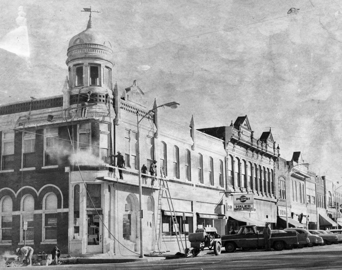 Gallatin Square = East Main circa 1970