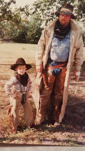 1991 - Re-enactor Father, Like Son